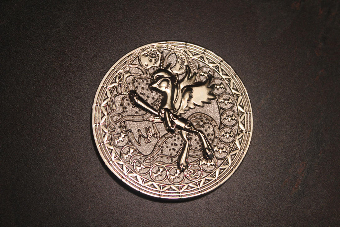Princess Luna Silver Coin by ShadowRunner27