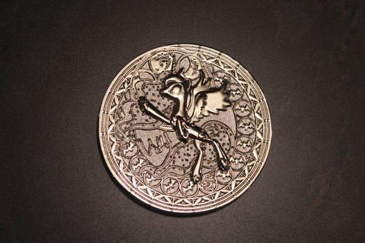 Princess Luna Silver Coin