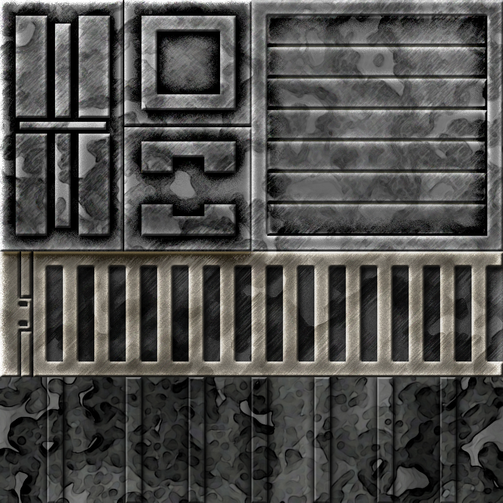 SciFi Wall Panels by ShadowRunner27 on DeviantArt