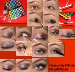 my first makeup tutorial
