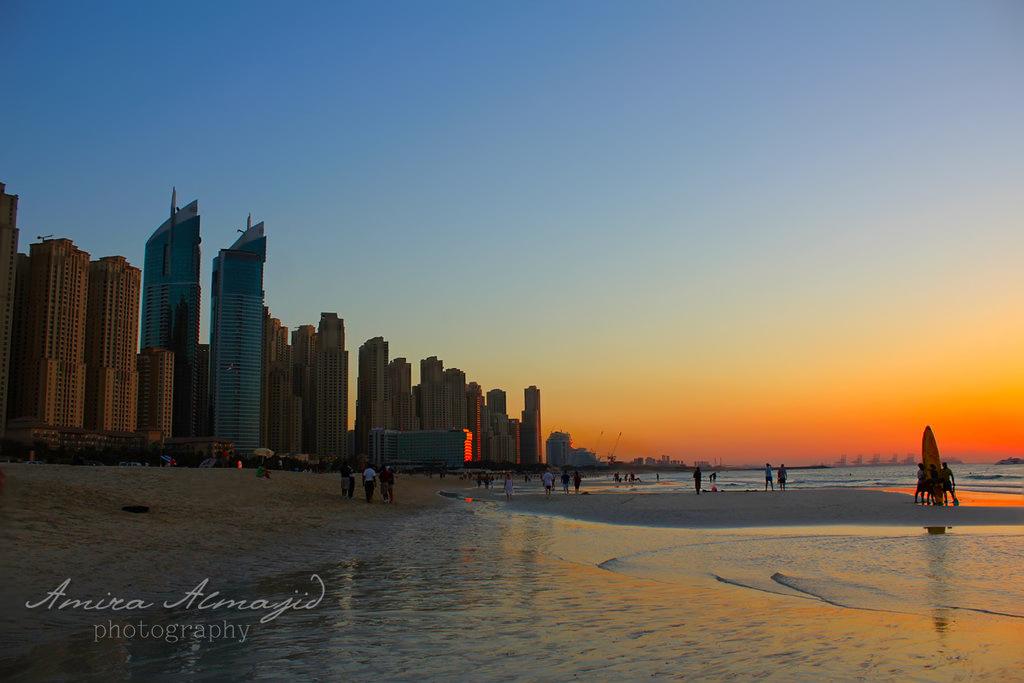 Jumeirah beach view by amirajuli