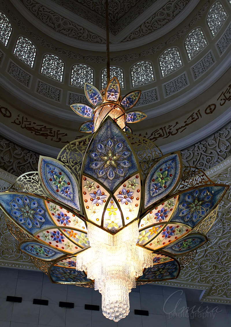 Zayed mosque interiors 3 by amirajuli