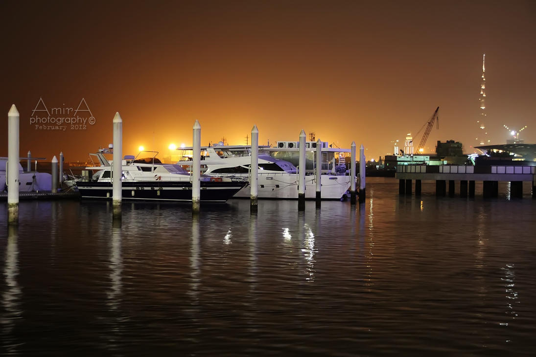Dubai Festival city yacht club 2 by amirajuli