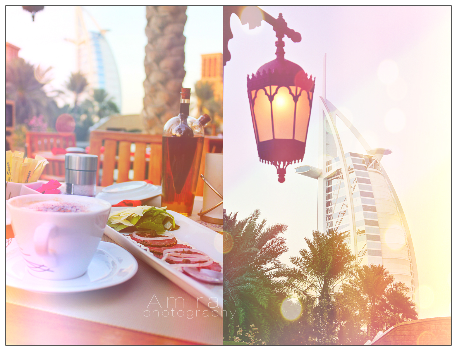 luxury view to Burj Al Arab by amirajuli