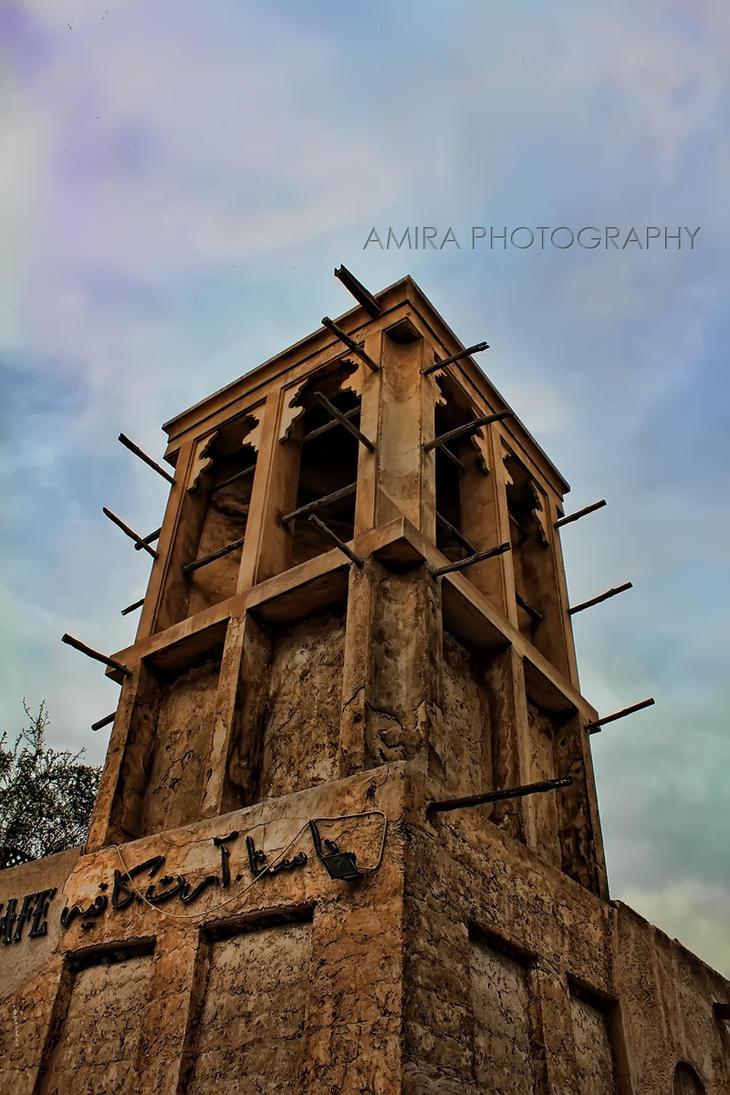 Dubai Bastakiya old style by amirajuli