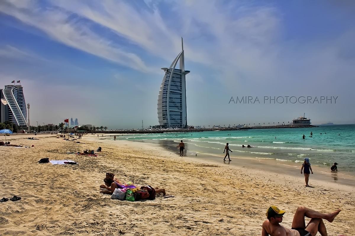 Burj Al Arab Umm Suqeim beach by amirajuli