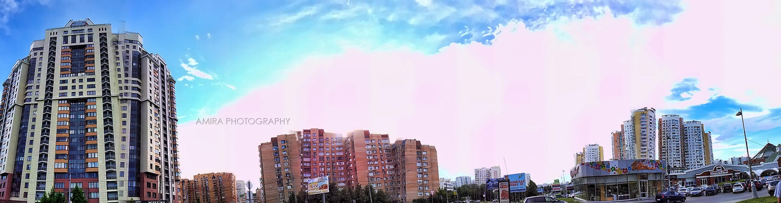 Moscow panorama 1 by amirajuli