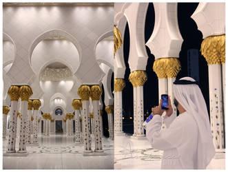 Zayed Mosque by amirajuli