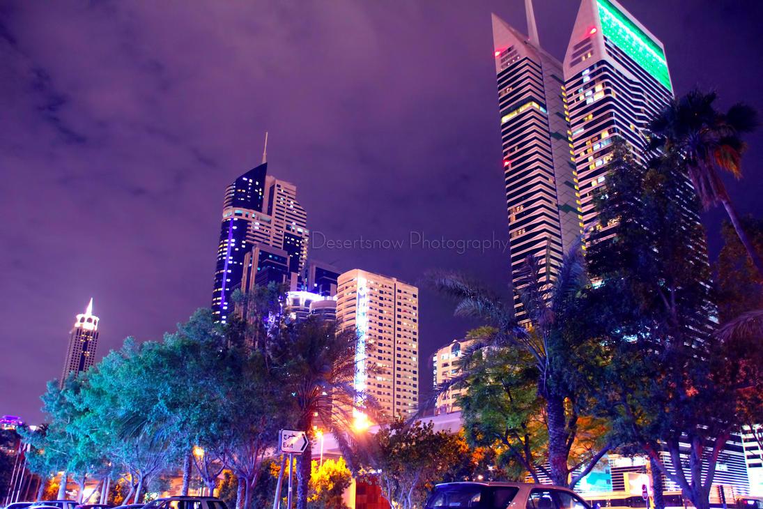 Night Dubai 2013-1 by amirajuli