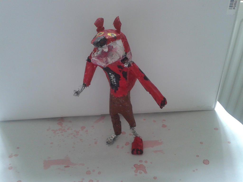 how to make lego foxy