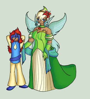 Fairy Queen and her Son