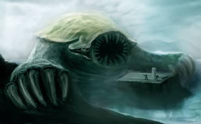 Water Monster by Artist-SV