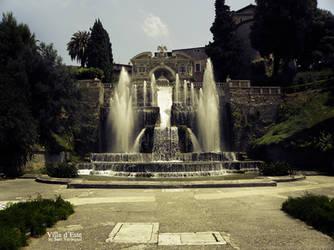 Villa d'Este by Artist-SV