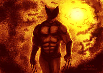 X-man by Artist-SV