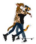Skating by Sm0keyXxx