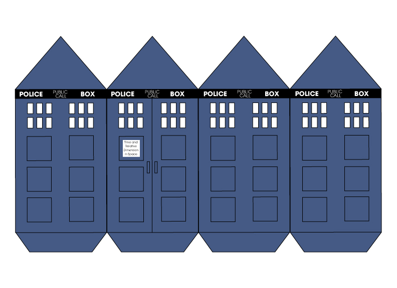 Tardis Cut-Out by charpal