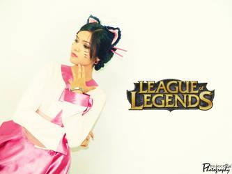 I am Ahri : League of Legends by Ruieien