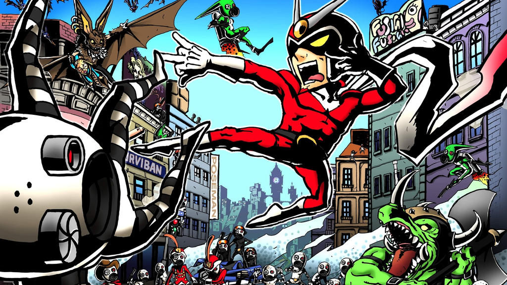 Viewtiful Joe by Zoomzamzim