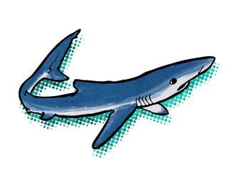 Shark Week: Blue by KaiserWilliams
