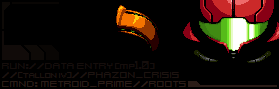 Metroid Prime Anniversary Banner by KillPanzer