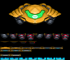 Samus' Gunship by KillPanzer