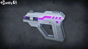 Low-poly Sci-fi Weapons (Laser-gun)
