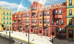 Low-poly Cartoon City Constructor