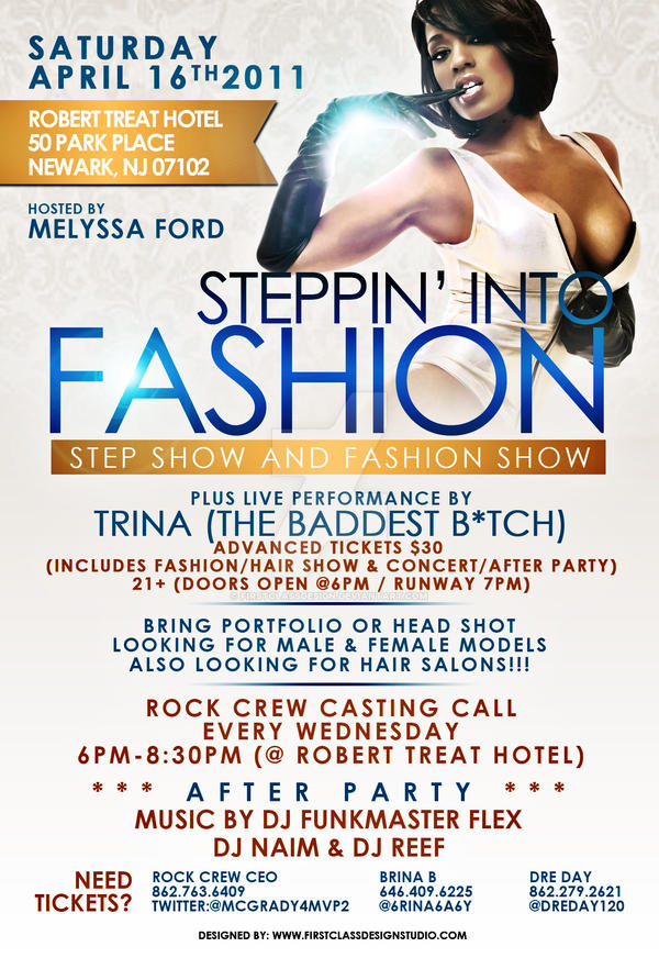 Fashion Show Flyer by firstclassdesign on DeviantArt