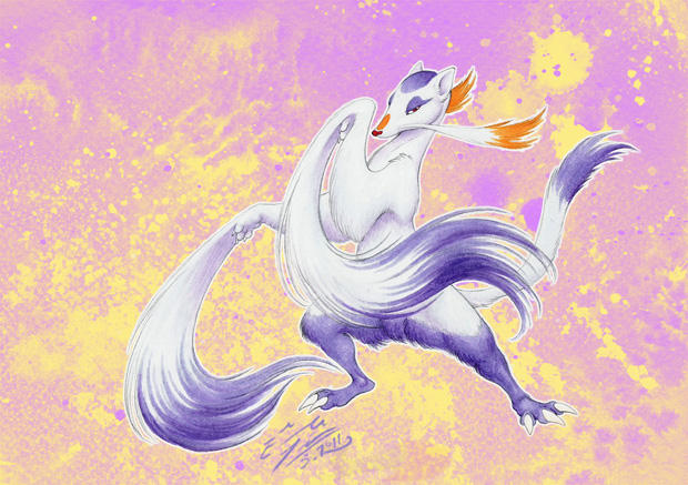 Mienshao By Wpgdea On Deviantart