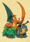 The Rulers of Kanto