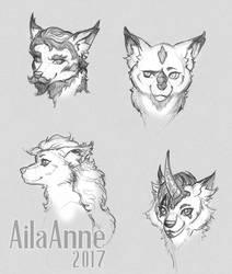 Furry Faces 01