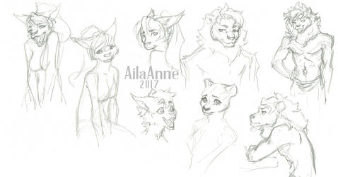 Furry Sketches