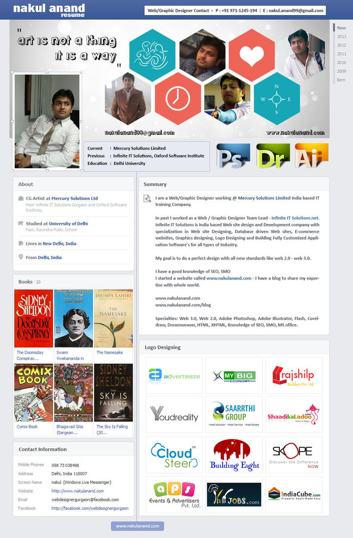 creative resume design by nakul anand by nakulanand on creative resume design by nakul anand by nakulanand