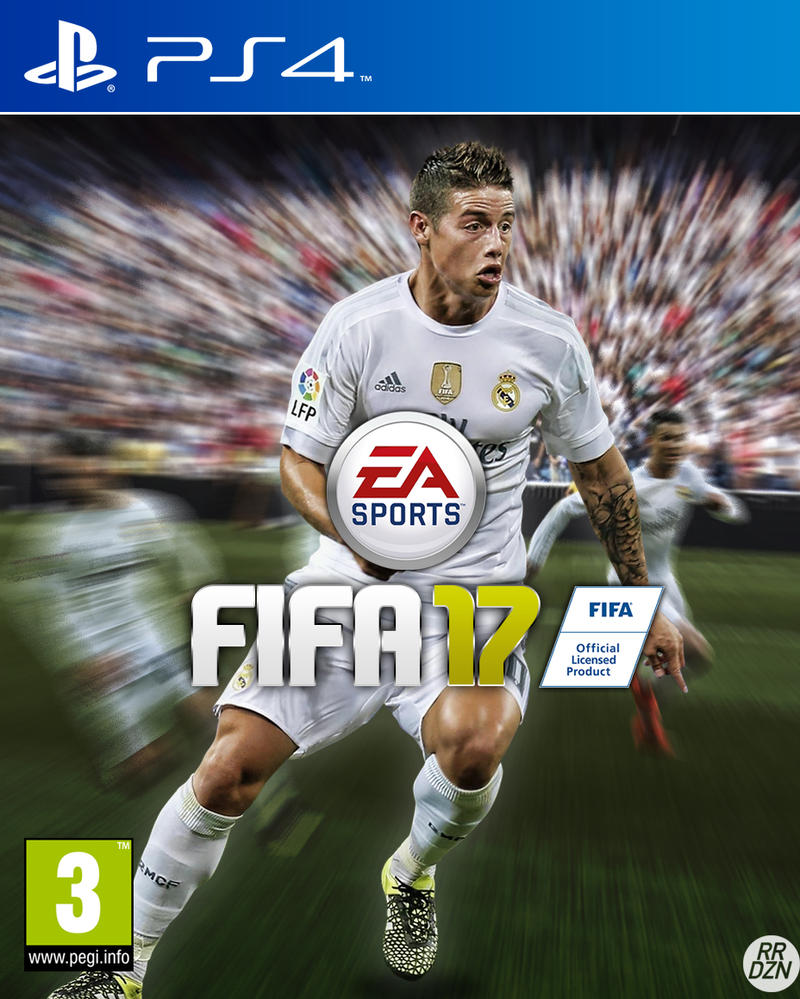 FIFA 17 Custom Cover with James Rodriguez by RRDZN on DeviantArt