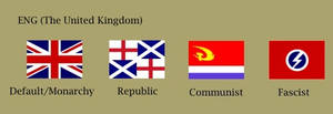 Victoria II UK Flags