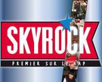 Wallpaper - Skyrock Bleu