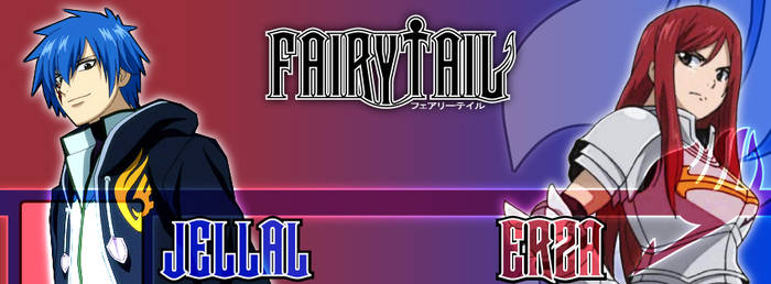FB Cover - Fairy Tail Erza Jellal