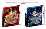 BoxArt - Pokemon Chromium Red Blue - English