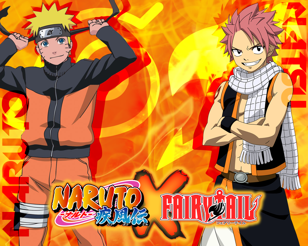 Beautiful Wallpaper Naruto Tail - wallpaper___narutoxfairy_tail___naruto_and_natsu_by_dlynk-d5yjyas  Gallery.png