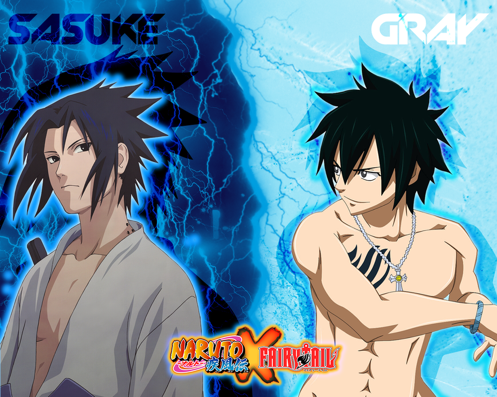 Most Inspiring Wallpaper Naruto Tail - wallpaper___narutoxfairy_tail___sasuke_and_gray_by_dlynk-d5zsc3w  2018.png