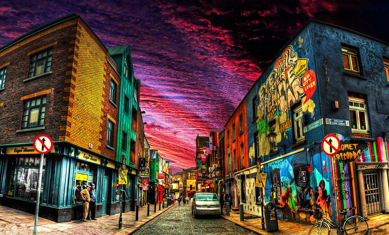 Cities Of The World Dublin By Little Billie On DeviantArt