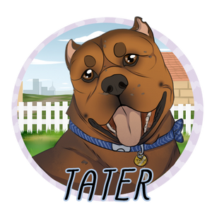 Tater Badge   DoC by EquestrianJade