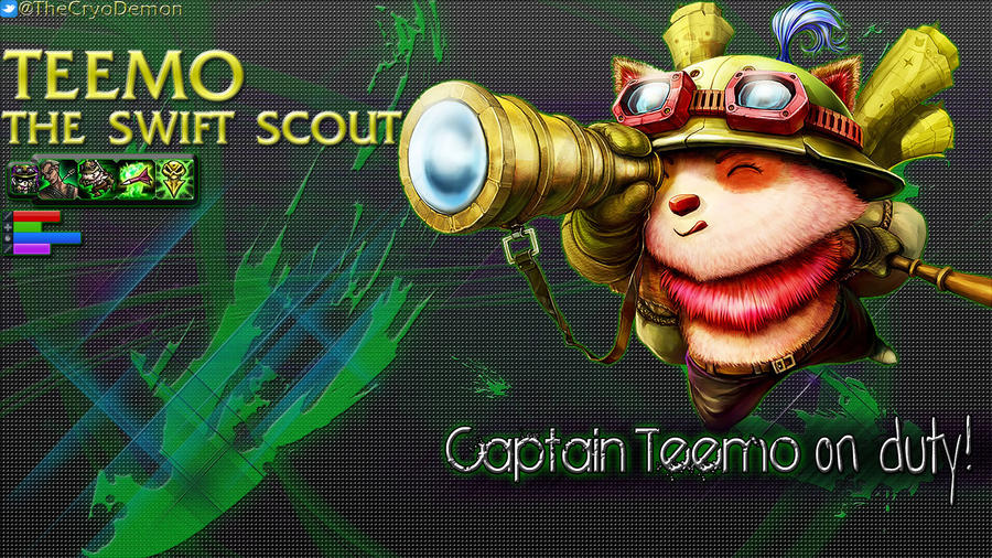 Teemo The Swift Scout by palkia1208