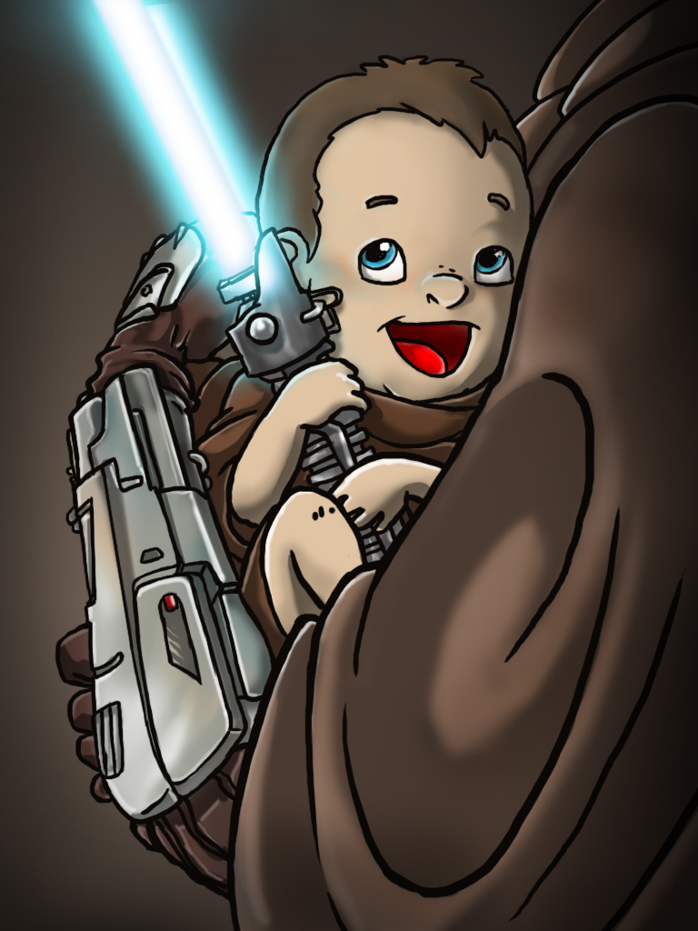 Little Padawan by Ronammy