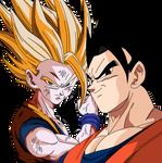 Ultimate Gohan and Gohan SSJ2