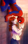 Spider-man and MJ