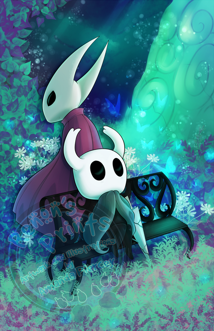 Hollow Knight by RenonsPrints