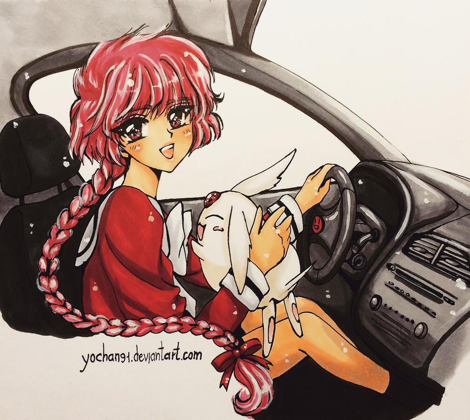 Hikaru driving by yochan91