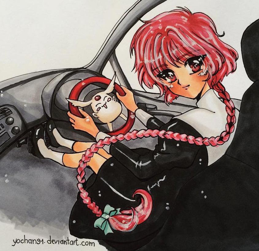 Hikaru driving 2 by yochan91