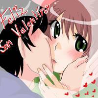 Feliz San Valentin by sakumane